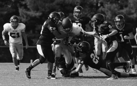 JV Football: Playing from behind