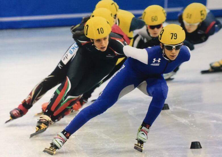 Speed skater secures spot on Team USA