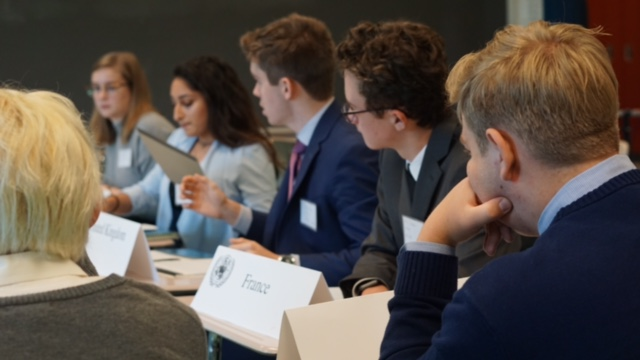 School hosts first Model United Nations Conference