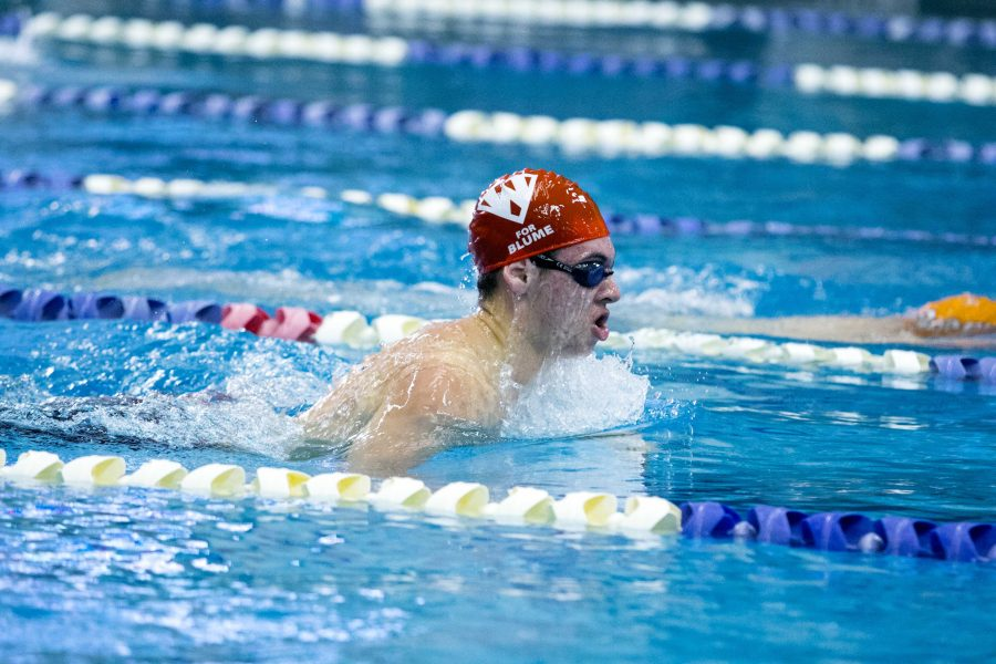 Swim and Dive: Team has highs, lows throughout season