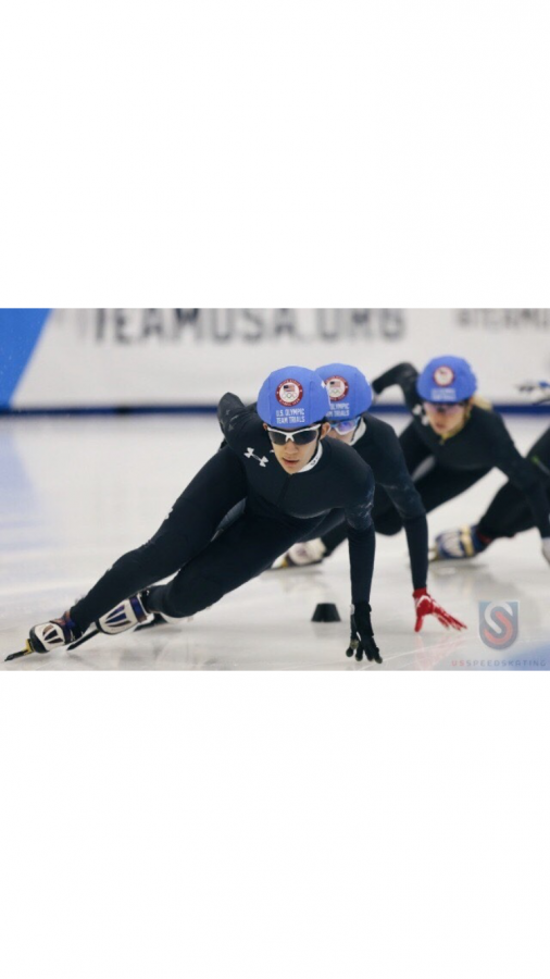 National+champion+Hachem+participates+in+2018+speedskating+Olympic+trials