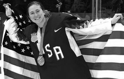 Q & A with womens' hockey gold medalist Haley Skarupa