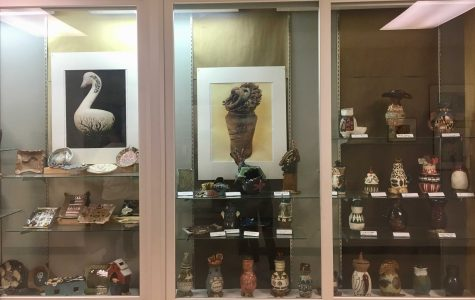 Ceramics students showcase projects, weeks of work pay off with new display