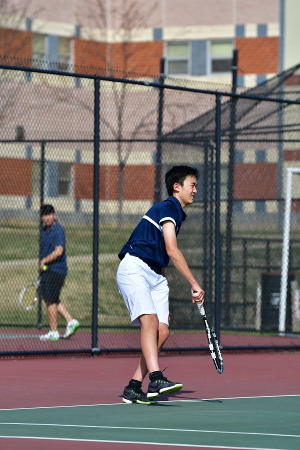 Boys Tennis: Strong schedule ahead has team working