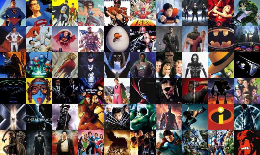Why are superhero markets over-saturated?