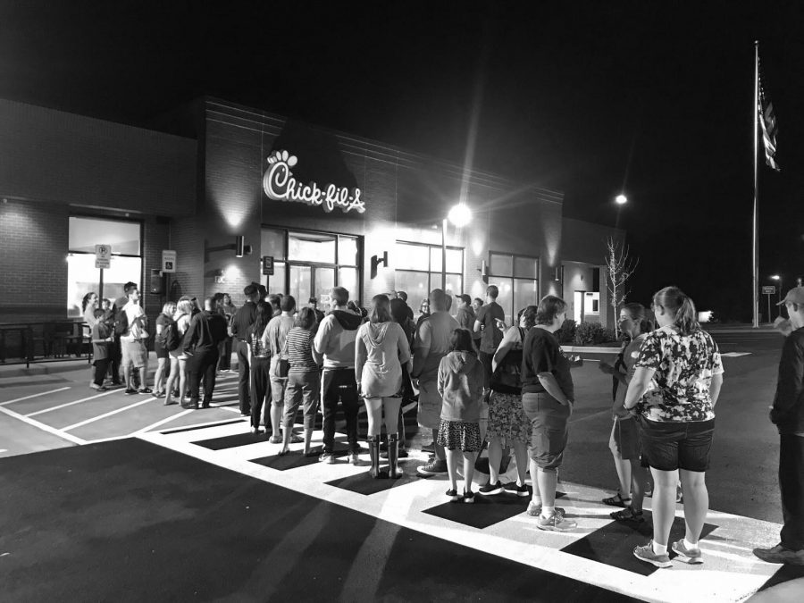 New Chick-fil-a in Rockville draws crowd