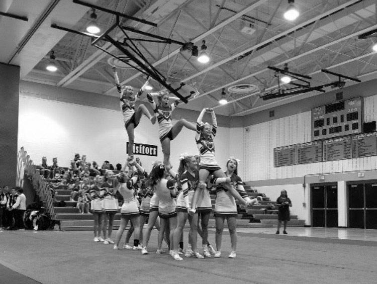 Cheer looks determined to improve after middle-of-pack finish in first competition of year