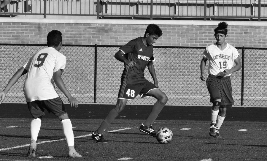 JV Boys' Soccer: Impressive goal by Ochman not enough against Trojans' overpowering offense