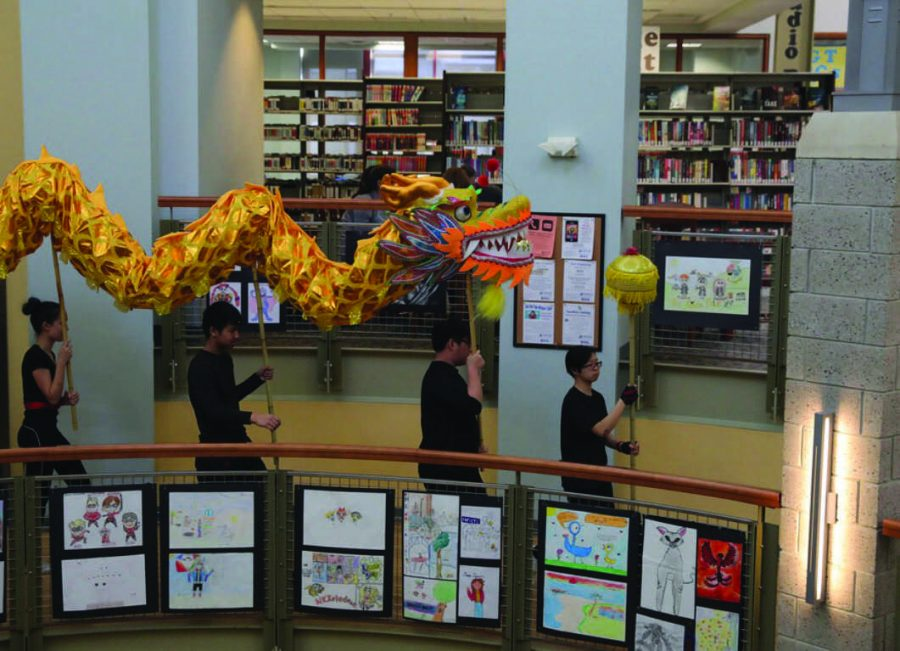Lunar New Year is celebrated locally