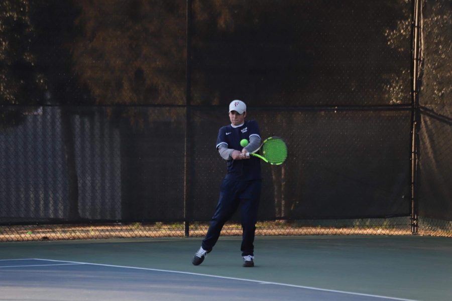 Revamped boys' tennis squad overcomes inexperience