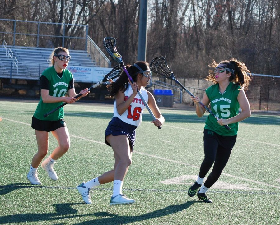 Big win over rival finishes off girls' JV lacrosse season