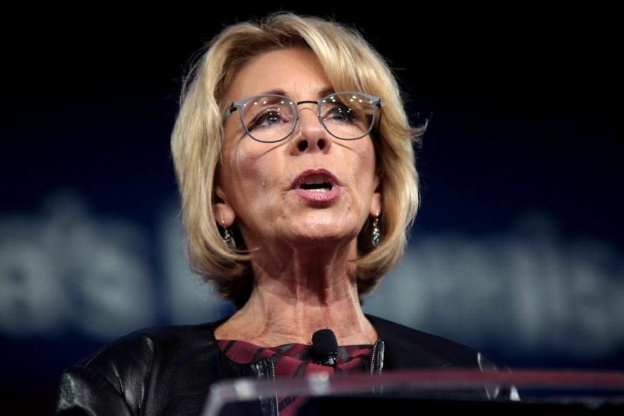 Secretary DeVos claims bigger is better, sparks controversy with recent comments regarding education