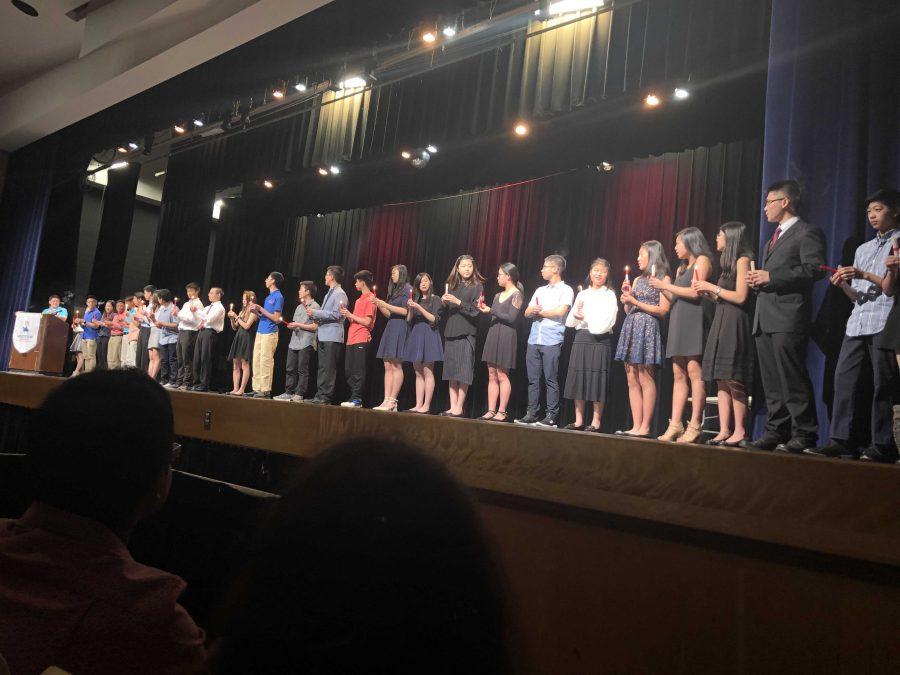 Language honors societies celebrate new members at ceremony