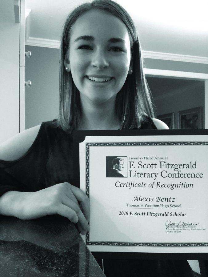 Alexis+Bentz+wins+Fitzgerald+literary+conference+award