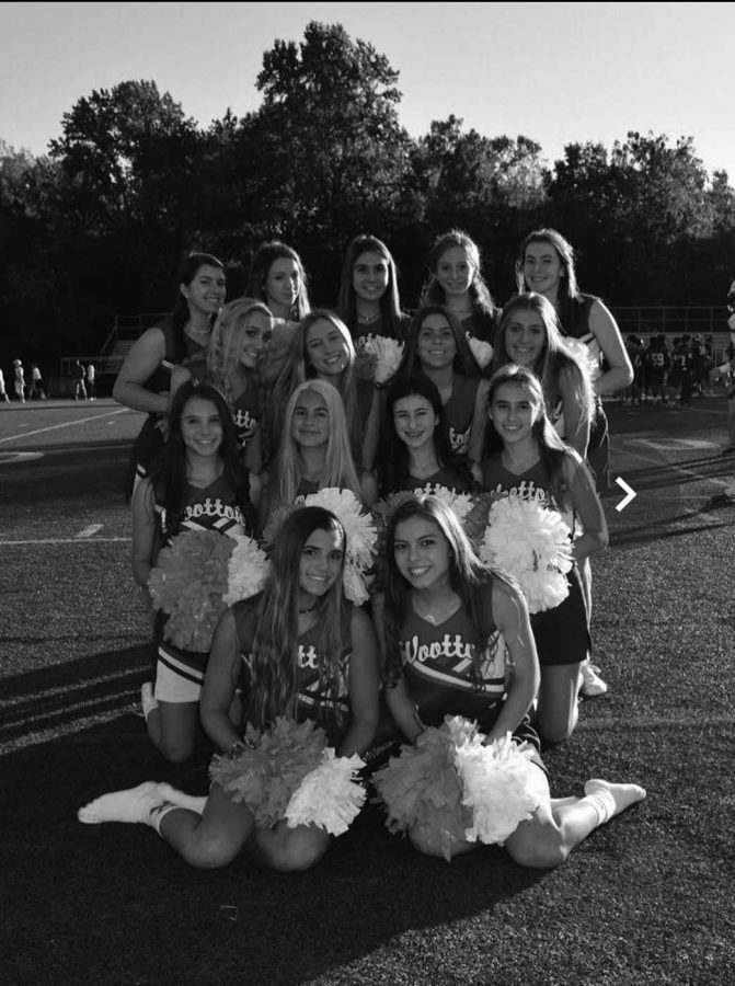 Cheer team competes in counties at Blair