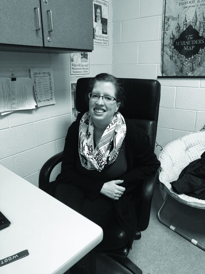 English, yearbook teacher Melanie Moomau manages time