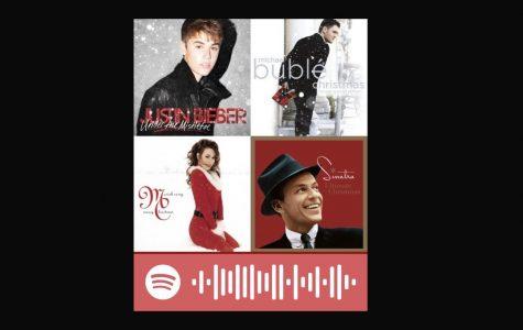 Holiday music generates excitement,  promotes seasonal festivities