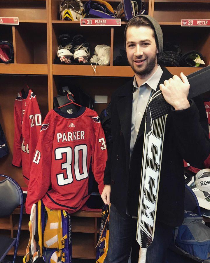 Social studies teacher, hockey player Alexander Parker enjoys educating, coaching students