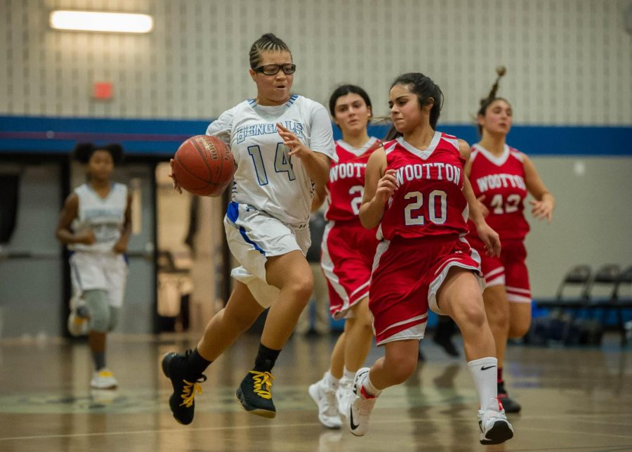 JV girls' basketball gets big win in strong performance; looking to continue success against Blair, Watkins Mill