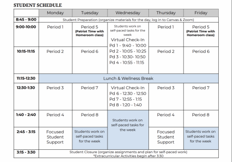 New Schedule: Adopt It or Drop It