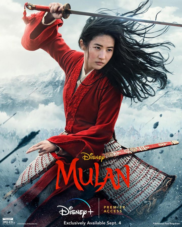 Live-action+Mulan+came+out+on+Sept.+4+and+was+released+on+Disney+Plus.