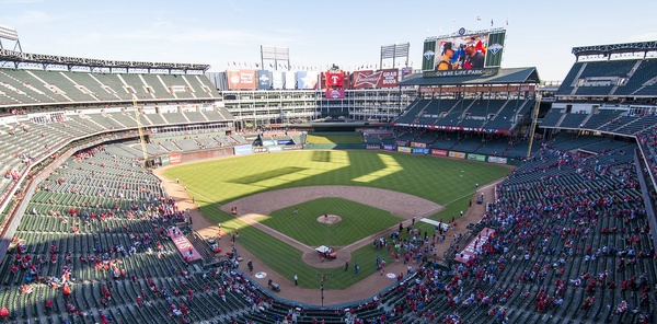 The World Series will take place at Globe Life Park in Arlington, Texas.