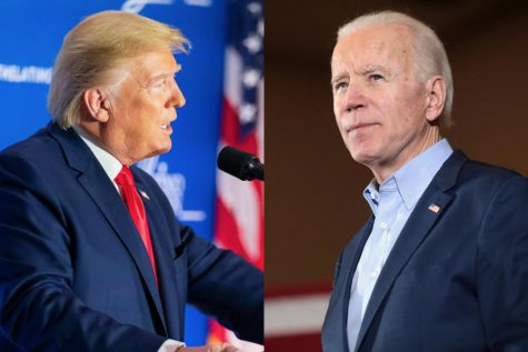 President Donald Trump (left) and former Vice President Joe Biden (right) squared off in the first presidential debate on September 29th at Shelia and Eric Samson Pavilion in Cleveland, Ohio.