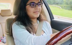 Junior Suhani Singh practices driving to prepare for her provisional license test.