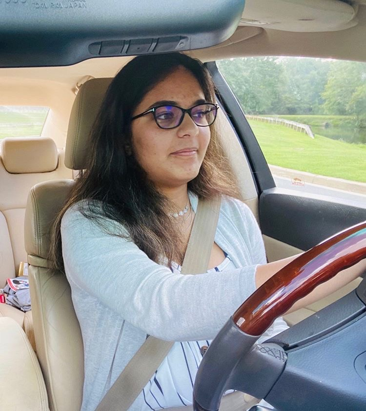 Junior+Suhani+Singh+practices+driving+to+prepare+for+her+provisional+license+test.