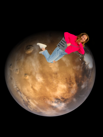 "Anna Keneally is ready to take on Mars after reading ""The Martian"" by Andy Weir."
