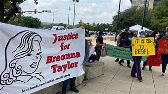 Protests have swept through America after Breonna Taylor's death and the subsequent rulings.