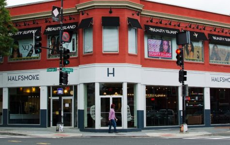 HalfSmoke, originally located in Washington D.C., offers varying dishes with the local delicacy