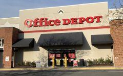 Office Depot on Shady Grove Rd. has a closing sale as it gets ready to close and open Amazon Fresh in 2021.