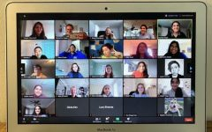 The Activist Club meeting on Sept. 25 looked different than usual, but the new normal is a Zoom call.