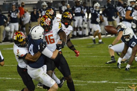 Maryland hits Penn State hard as they get a 35-19 win