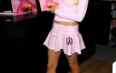 Paris Hilton's famous millennial pink took the world by storm. One of her most iconic outfits showcasing the color was at her book signing