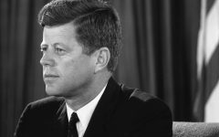 John F. Kennedy served as the 35th president for less than two years before his assassination.