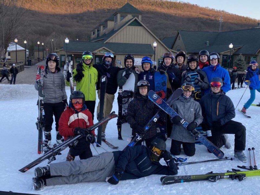 Last year's Ski Club enjoyed numerous trips to White Tail Resort in Pennsylvania.
