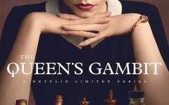 The Queen's Gambit Netflix series cover grabs viewers' eyes.