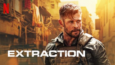Actor Chris Hemsworth stars in the Netflix movie Extraction
