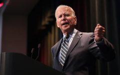 President-elect Joe Biden speaks at the 2019 Iowa Federation of Labor convention Aug. 21 in Altoona, Iowa.