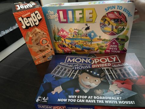 Jenga, The Game of Life and Monopoly are just a few board games a family can enjoy together.