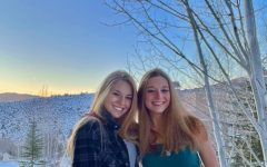 Senior Tamara Heller spends New Year's Eve with sister, sophomore Zoe Heller, and family in the mountains of Colorado.