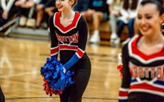 Senior Jillian Pohoryles performs on Jan.11 at Northwest for a poms competition.