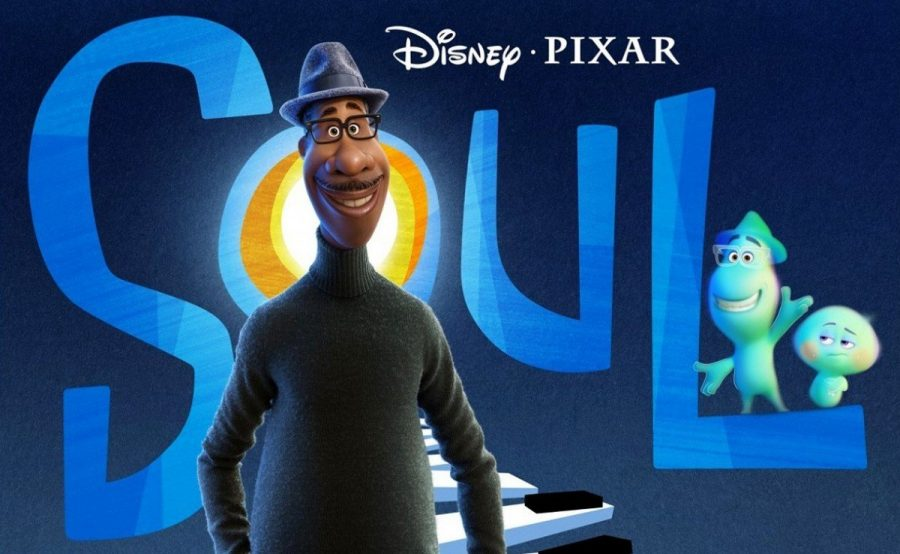 Pixar's Soul features Joe Gardner, voiced by Jamie Foxx, and 22, voiced by Tina Fey.