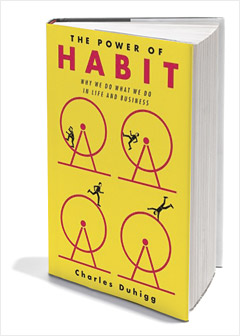 The Power of Habit by Charles Duhigg explores why and how people form habits, as well as advice on how to break unwanted habits.