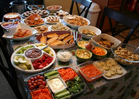 Fans traditionally prepare huge spreads before the Super Bowl.