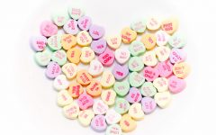 Conversation Hearts are a common candy around Valentine's Day, but where do they rank among other candies?