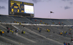 The Michigan Football game has a friends and family only policy for fans.