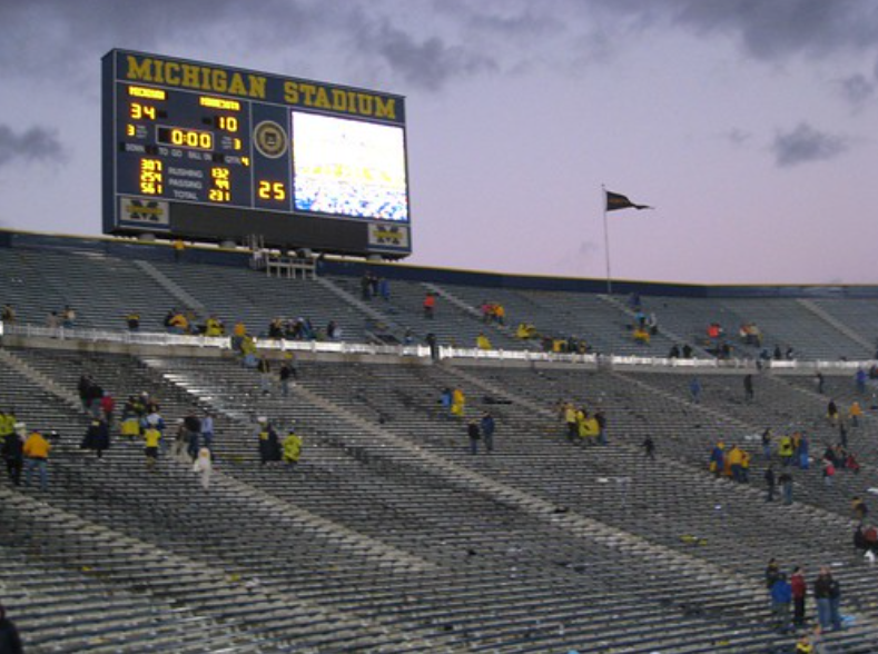 The+Michigan+Football+game+has+a+friends+and+family+only+policy+for+fans.